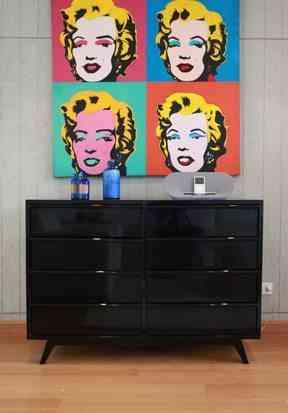 cuadros de marilyn decoración pop art
