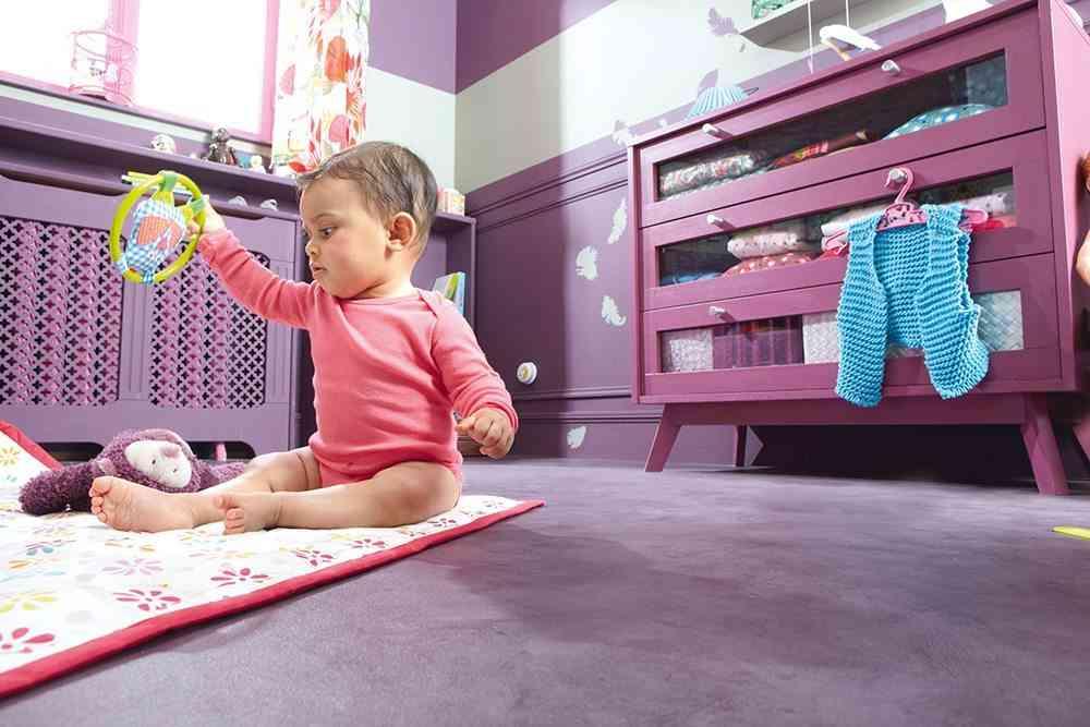casa segura para los ninos cuarto de bebe leroy merlin