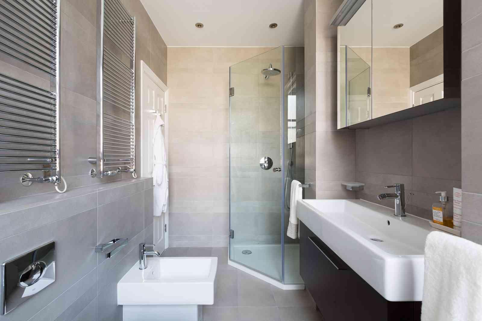 baño pequeño y práctico