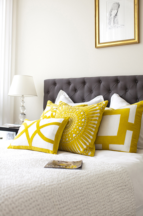 C mo decorar con cojines toda la casa - Decorar cama con cojines ...