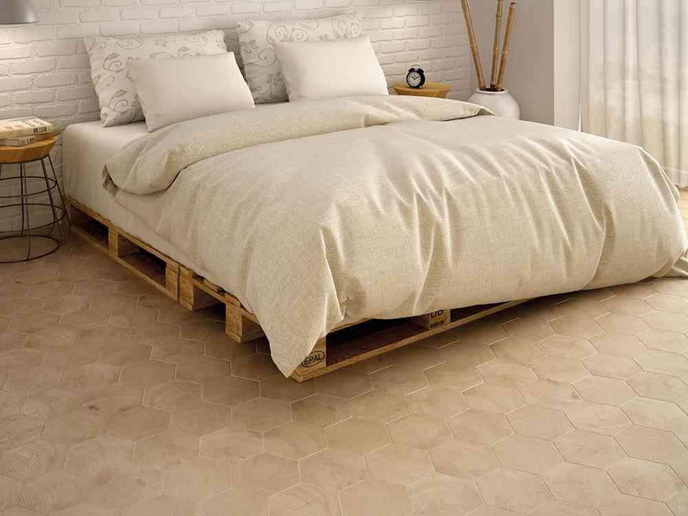 suelos de ceramica modernos Equipe ceramicas – Serie Hexawood