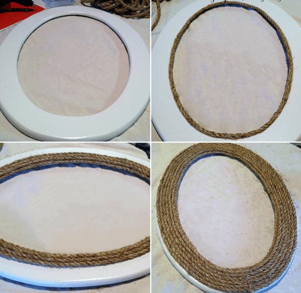 reciclar una cuerda espejo cuerda paso a paso
