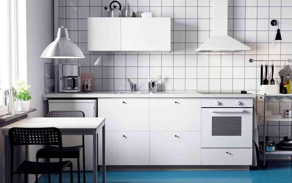 Ideas para renovar tu cocina de forma f cil y r pida - Cocinas blancas ikea ...