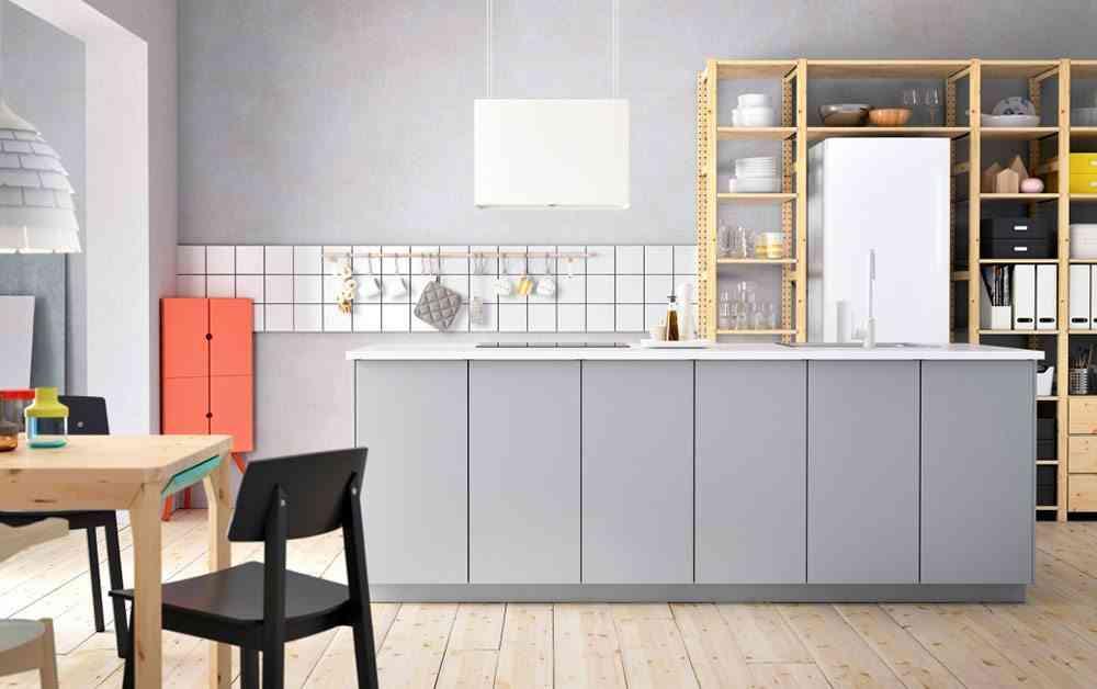 renovar tu cocina ikea cocina gris