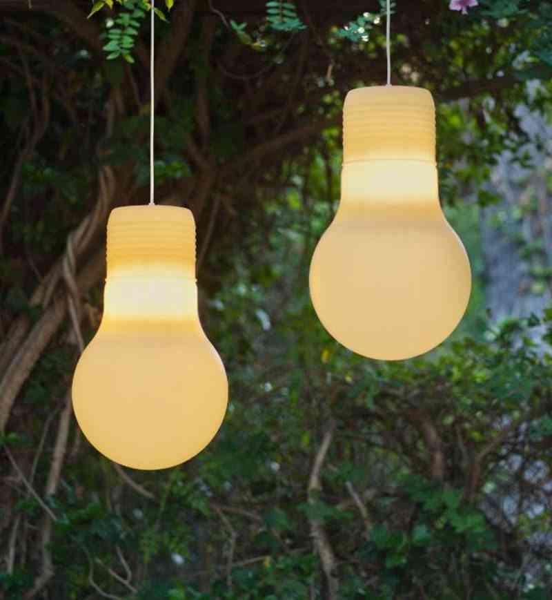 Claves para dise ar la iluminaci n exterior del jard n for Lamparas porche exterior
