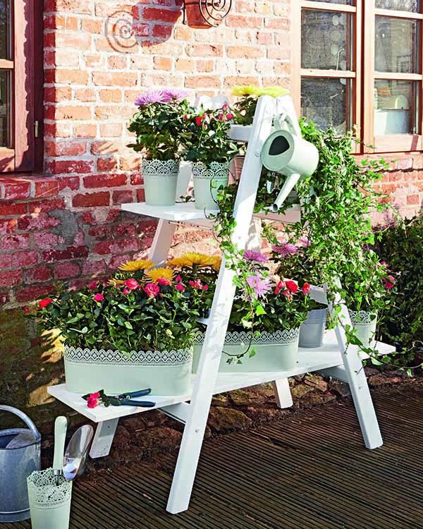 Haz t mismo este original jard n en casa for Como hacer un jardin pequeno