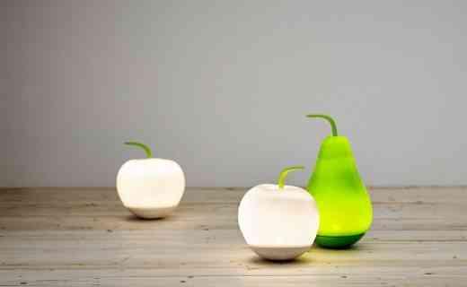 lámpara en forma de manzana original