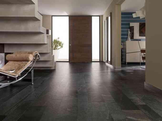 Pavimentos que parecen de piedra natural - Decoracion de suelos interiores ...