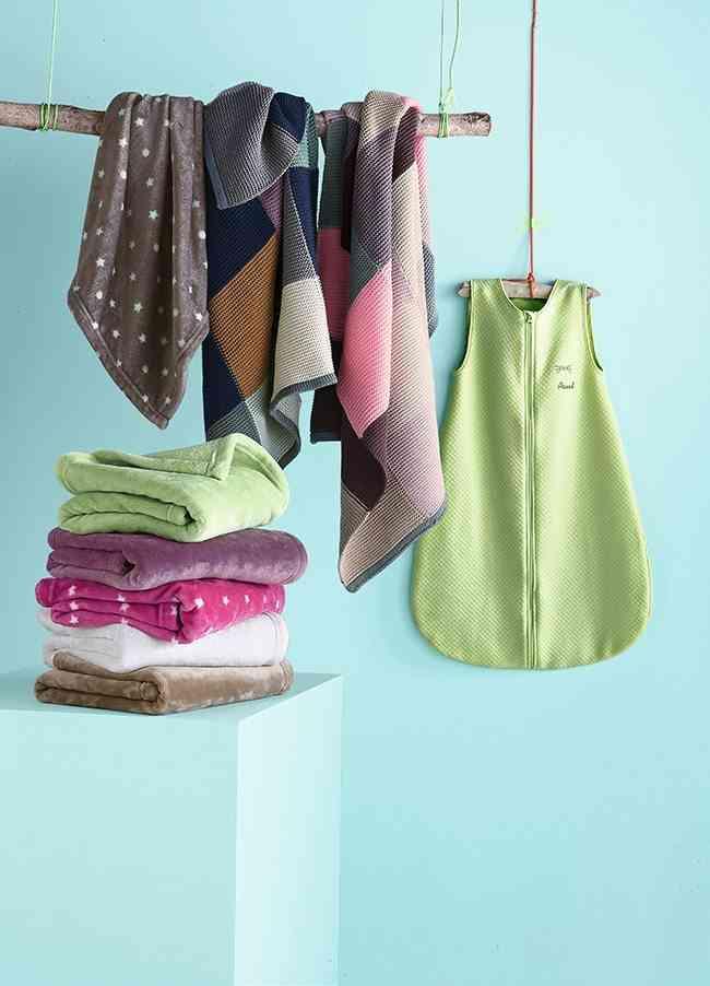nueva colección de textiles vertbaudet mantas polares