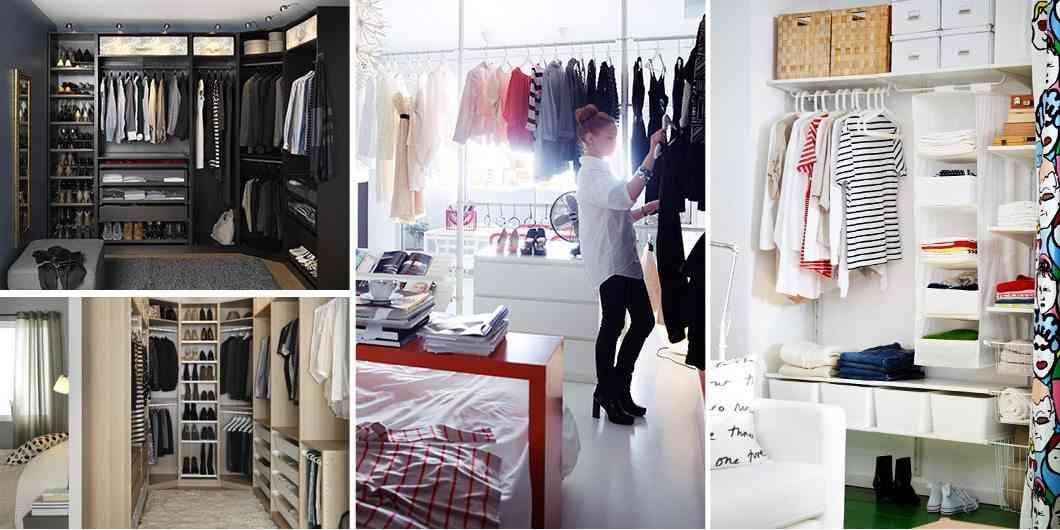 C mo organizar tu vestidor paso a paso - Como forrar un armario con tela ...