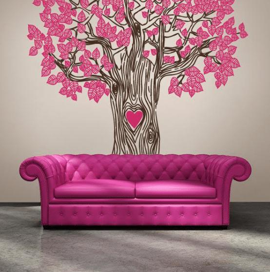 Vinilo decorativo - arbol