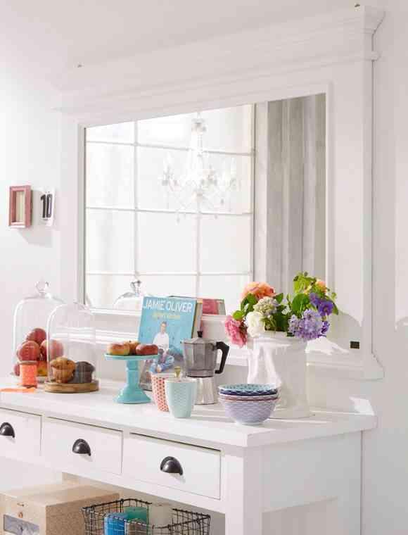 espejos decorativos blanco car mobel