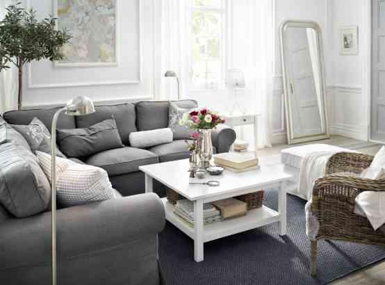 centro de mesa para mesa blanca