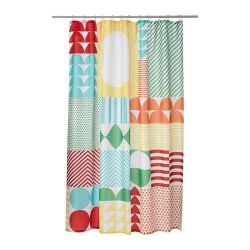 cortinas de baño originales colores ikea