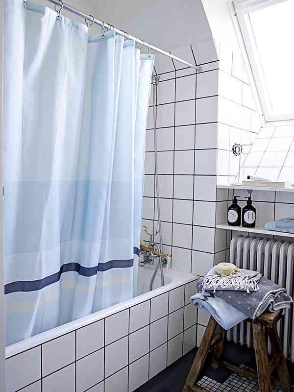 cortinas de baño originales cortina nordica