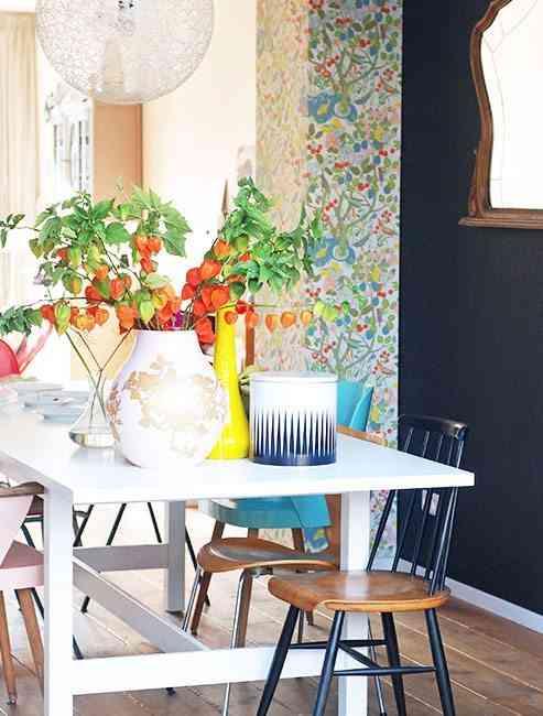 decorar con flores para hogar feliz