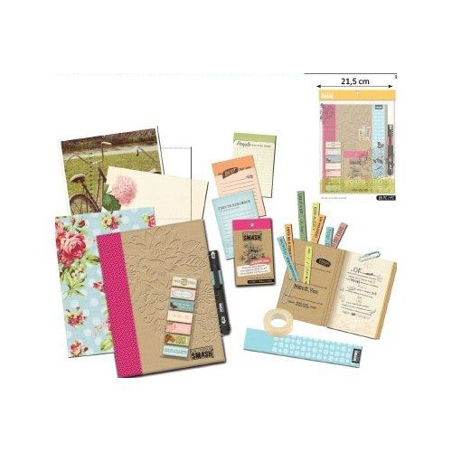 kit scrapbooking para decorar agenda