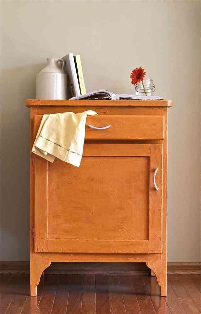 recicla tu mismo un armario despues naranja