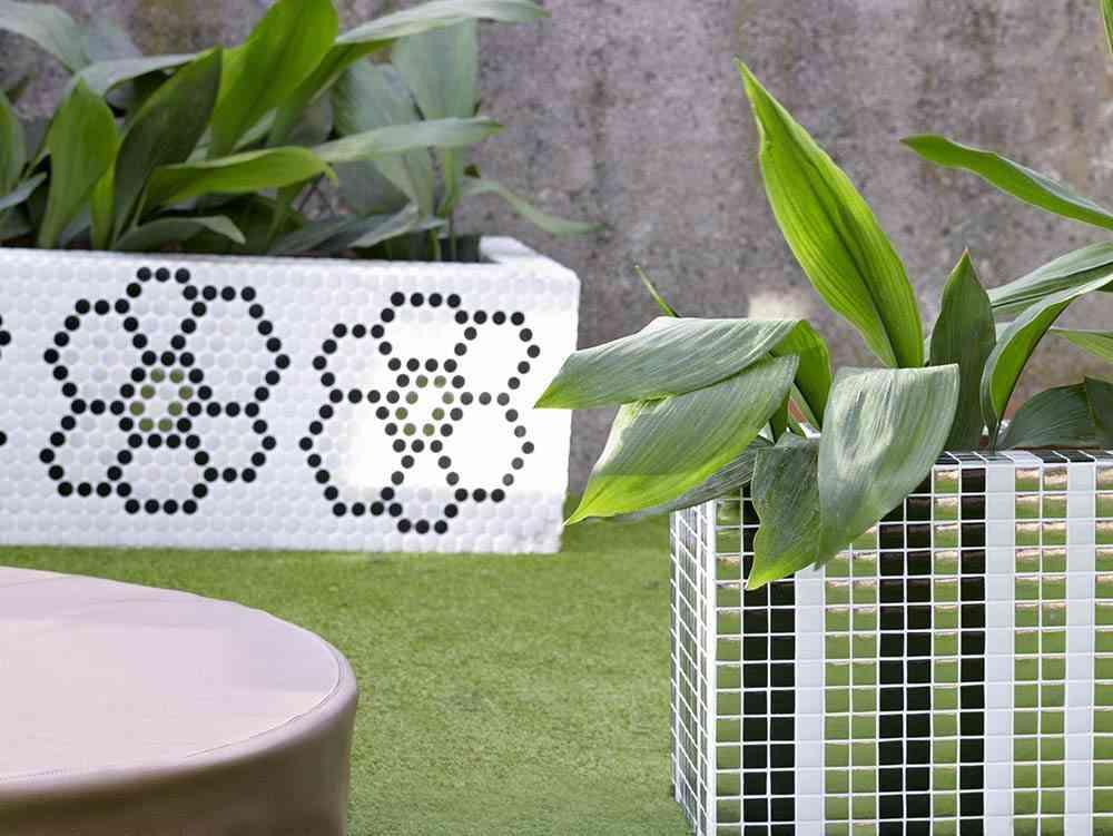 decoracion de jardines Exterior Hisbalit horizontal