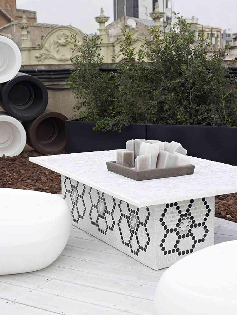 decoracion de jardines Exterior Hisbalit mesa