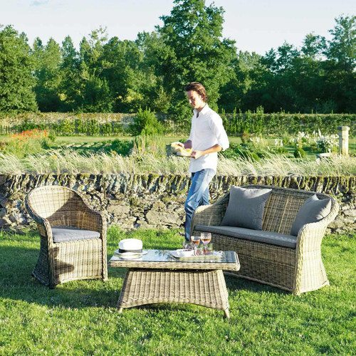 muebles de jardin fibras vegetales maisons
