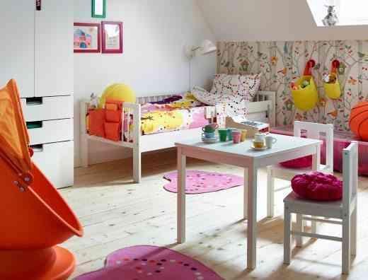 ideas alegres para habitación de los niños
