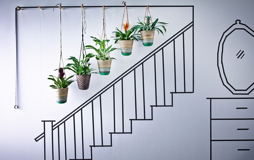 decorar con plantas Ikea general