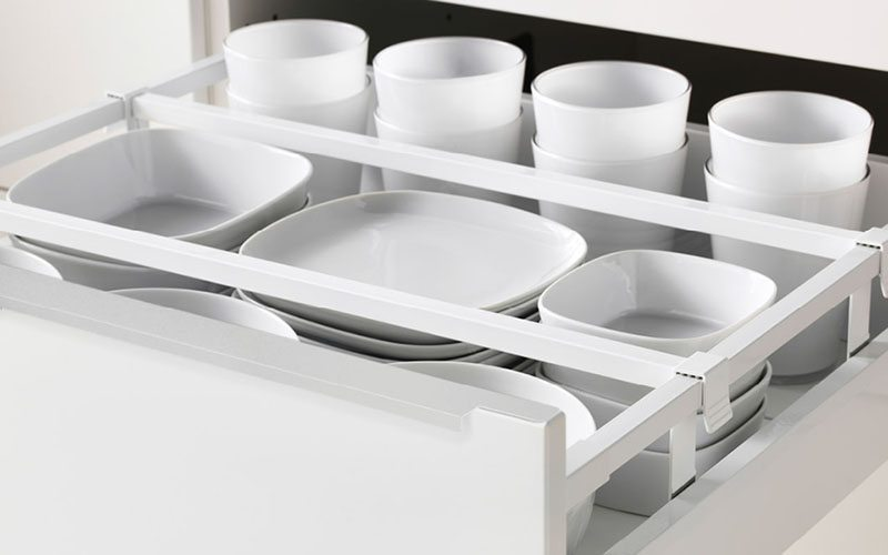 cocina en orden ikea separadores cajones