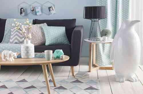 decoracion de estilo escandinavo maisons sofa cojines