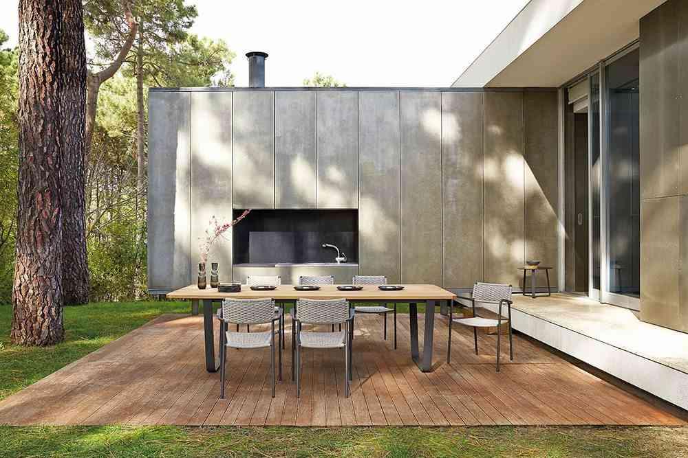 mejorar la terraza Manutti Air garden table