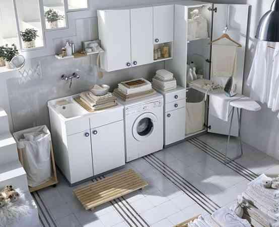 20 imágenes de decoración para inspirar tu cuarto de lavado