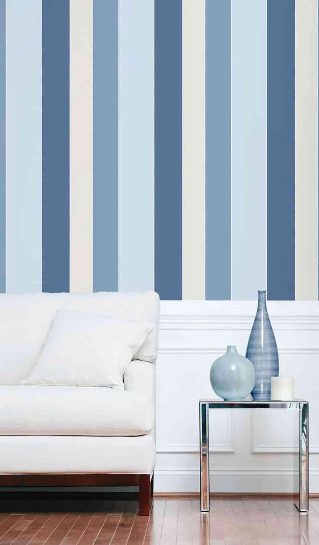 decora tu casa papel rayas decopraktik
