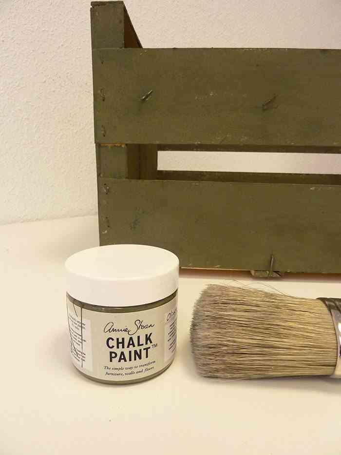 revistero de estilo industrial pintar caja paso 3