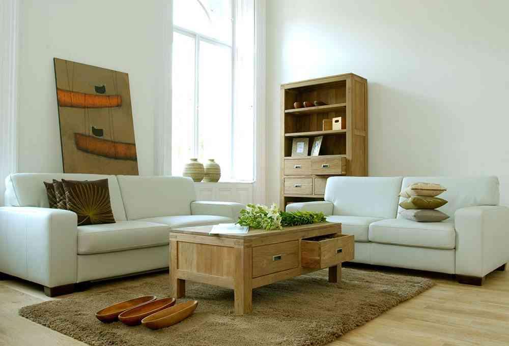 muebles de madera salon cuir paris