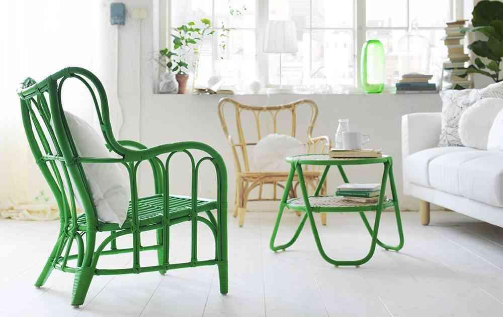 interiores de casas modernas sillas mesa NIPPRIG IKEA
