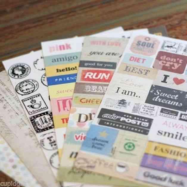 stickers para agenda personal