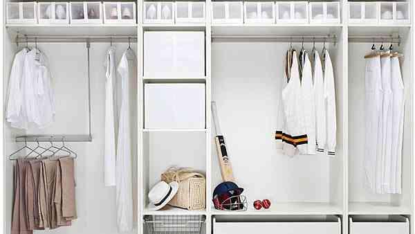 organizar vestidor para espacios pequeños