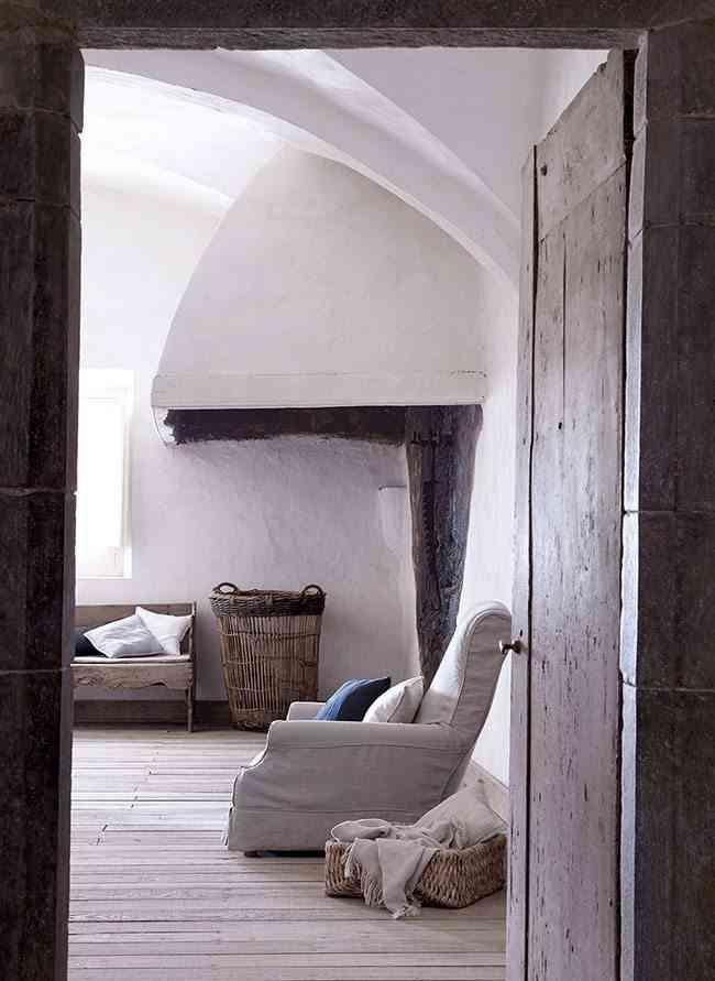 interiores de casas rusticas vista puerta zara home