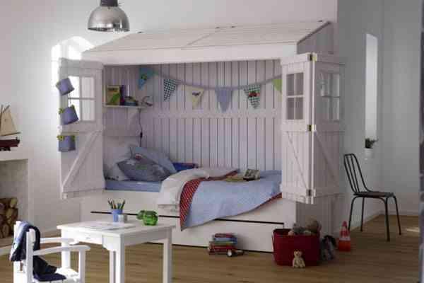 muebles infantiles de diseño cama caseta car mobel