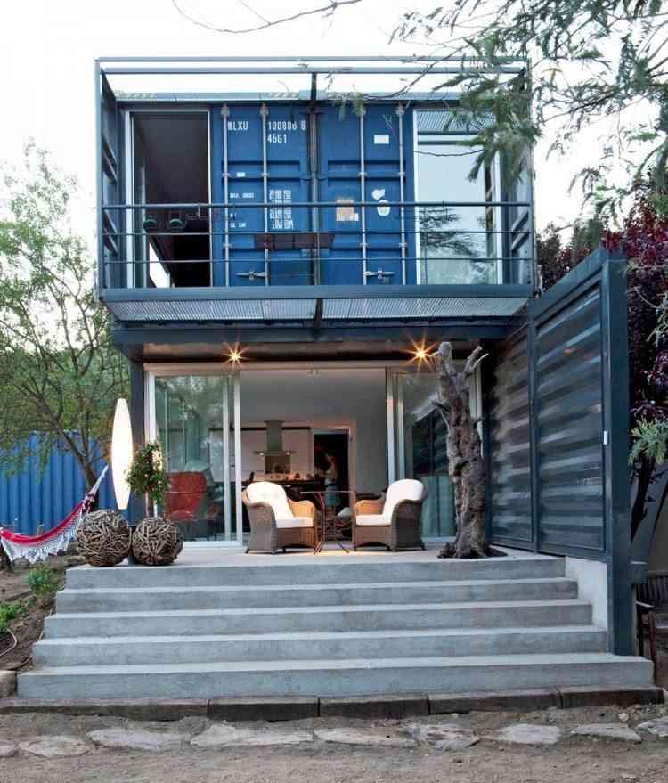 casa hecha con un contenedor