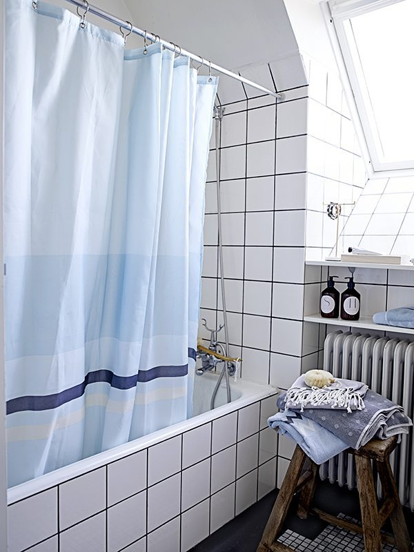 cortinas de baño originales cortina nordica