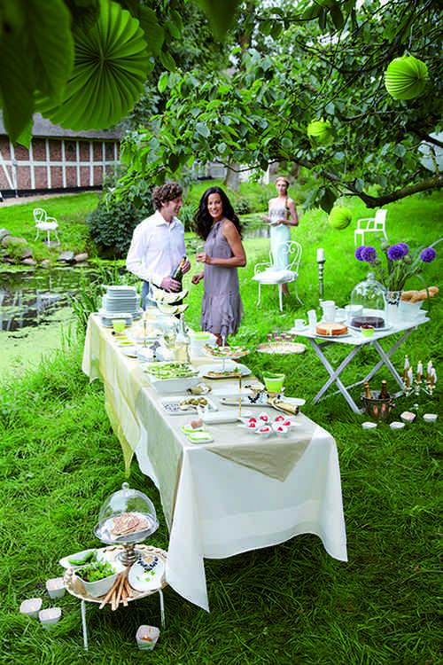 C mo celebrar fiestas de cumplea os originales en el jard n for Decoracion en jardin para 15 anos