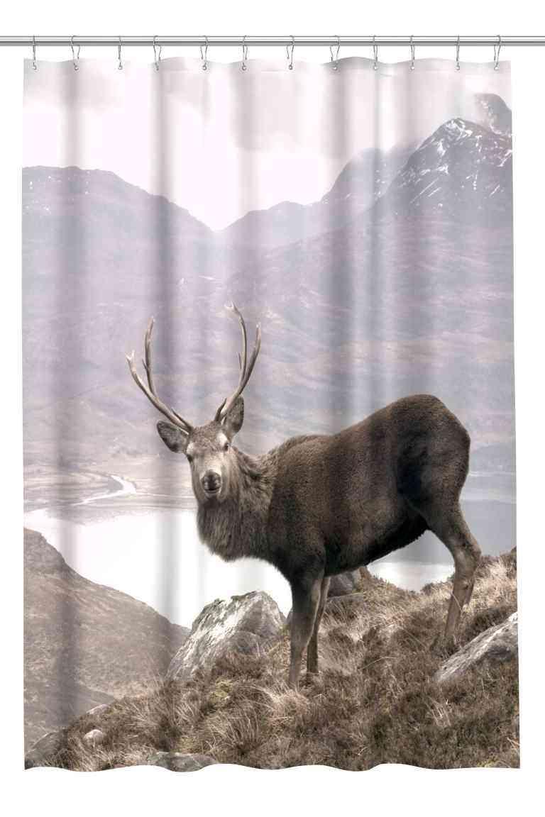 cortinas de baño originales hm cabra