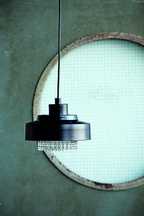 lamparas de techo housedoctor negra cristal