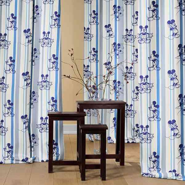cortinas infantiles mickey telas.es