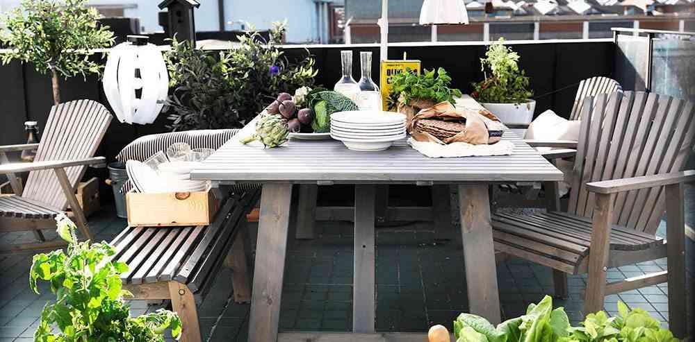 decoracion de terrazas en aticos rincon comer ikea