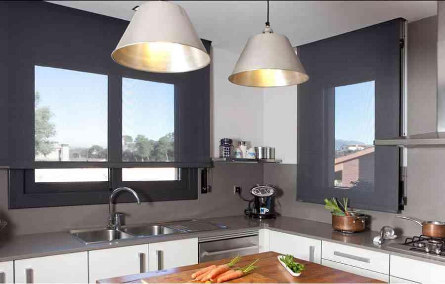 Claves para elegir cortinas de cocina modernas - Cortinas screen opiniones ...