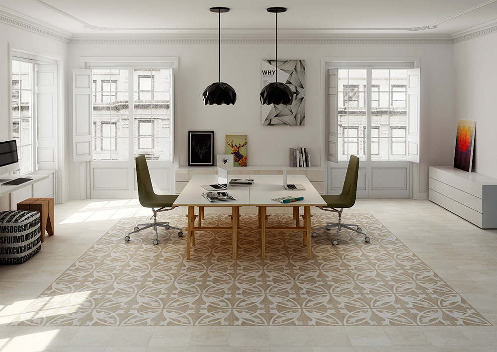 C mo decorar los suelos con mosaicos hidr ulicos for Combinaciones de pisos para casas