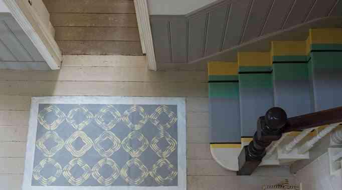 pintar los suelos arranque escaleras