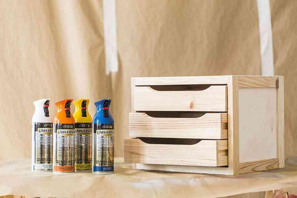 pintar una cajonera de madera cajonera materiales